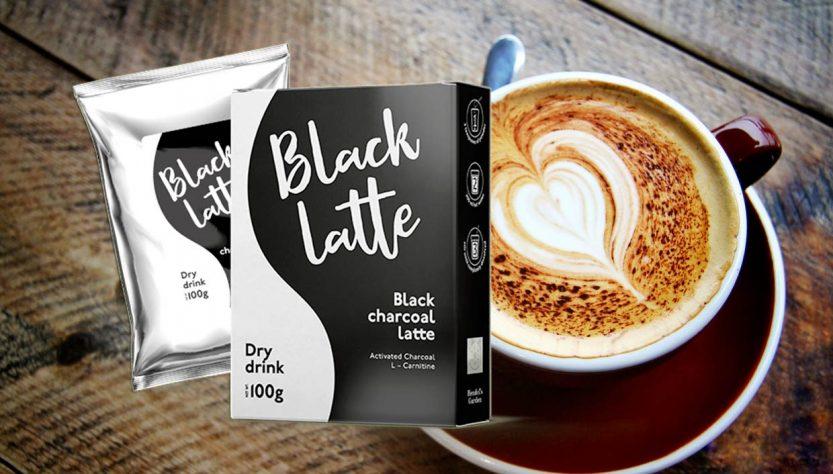 black latte integratore