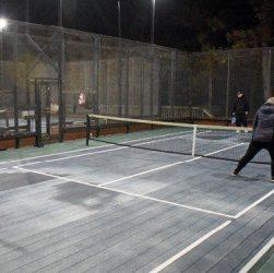 campo da padel tennis