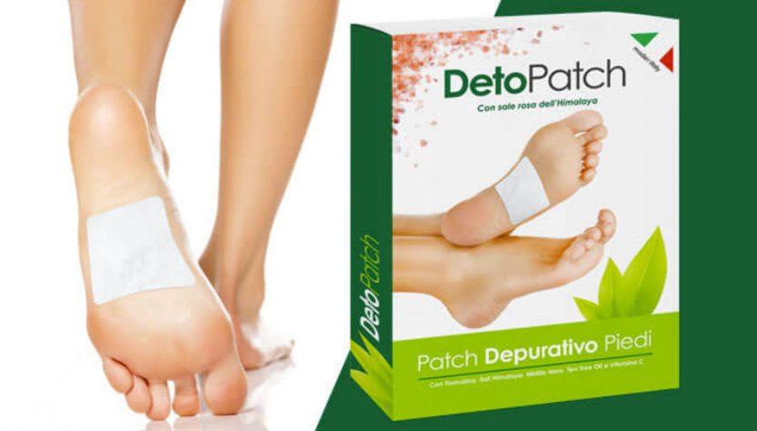deto patch cerotto detox per piedi