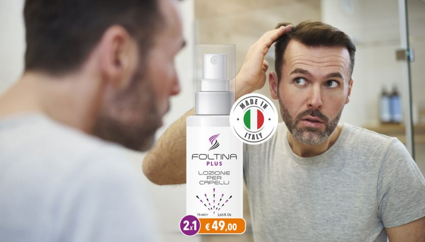 foltina plus lozione anticaduta capelli