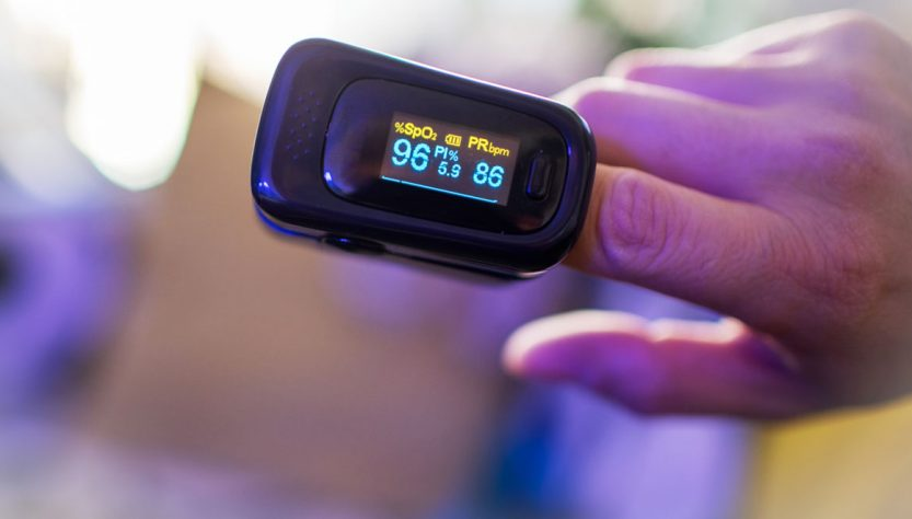 pulsossimetro da dito professionale