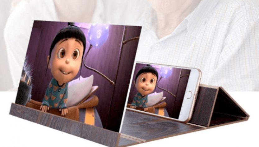 cinescreen amplificatore di schermo smartphone