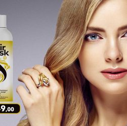 hair mask gold crema idratante per capelli