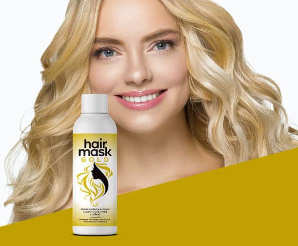 hair mask gold per capelli