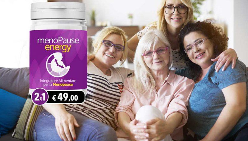 menopause energy integratore alimentare naturale