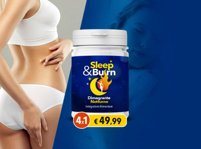 sleep burn integratore alimentare