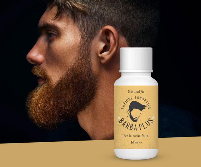barba plus lozione rinfoltente per barba