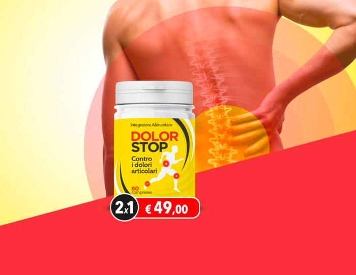 dolor stop integratore dolori articolari