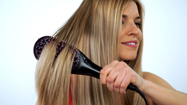 straight hair spazzola piastra 2 in 1