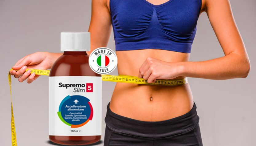 supremo slim 5 integratore dimagrante
