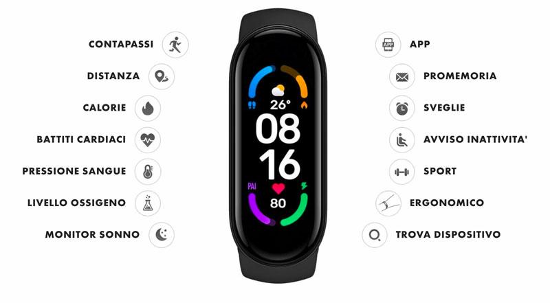 compact watch caratteristiche